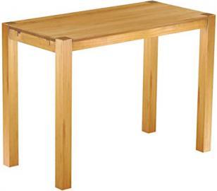 Brasil Rio High Table Furniture 'Kanto' Pine Bonito Solid Wood 170x 73x 109cm, Colour: Honey