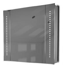 Astound LED Illuminated Bathroom Mirror Cabinet With Sensor & Shaver k18