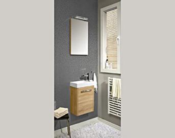 Pelipal Lardo 3 Tlg. Bathroom Furniture Set/Vanity/Counter/Surface Mirror