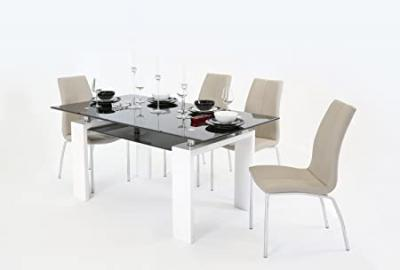 Metro (160cm) Dining Table White