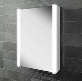 HIB Illuminated Bathroom Cabinet With Shaver Socket