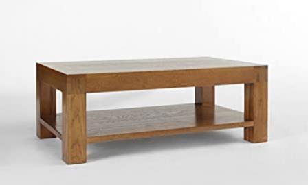Rustic Grange Santana Rustic Oak Coffee Table 120 x 70cm