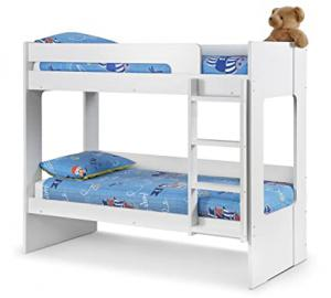 Ellie Bunk Bed - All White Children Bedroom Furniture Decor