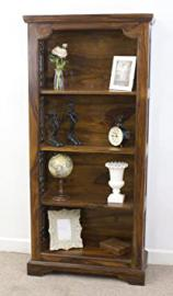 Mercers Furniture Indian Bookcase - Indian Rosewood, Medium