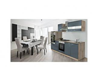 respekta Kitchen Kuchenleerzeile 270 CM Kitchen Island Fresh-Sawn Sonoma Oak furniture components LBKB270ESG