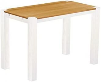 'RIO Kanto' Brasil High Table 160x 90x 109cm, Bonito, Solid Wood, Colour: Honey Pine/White