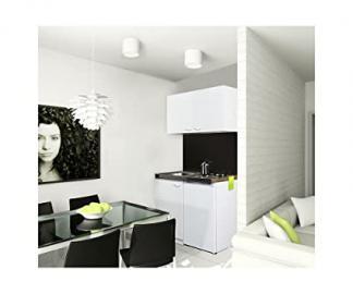 Respekta MK 100 WOS Mini Kitchen Unit Including Double Hob and Wall Units