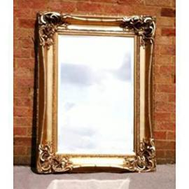 "Gold Gilt Monte Carlo Mirror (3ft 6"" x 2ft 8"")"