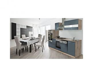 respekta LBKB280ESG Fitted Kitchen Rough Oak Empty Units 280 cm Grey