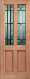 External Hardwood M&T Double Glazed Malton Door with Drydon Glass