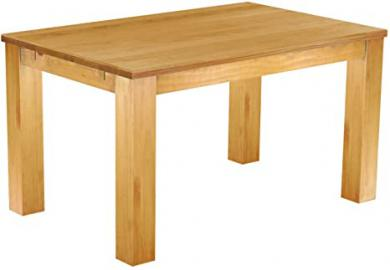 Brasil 'Rio Classico' Dining Table 140 x 90 cm, Solid Pine Wood, Colour: Honey