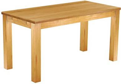 Wooden Dining Table Solid Pine Table 150 x 73 CM Honig