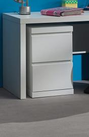 Bunk lark1214 Lara Filing Cabinet for Office White MDF 60 x 40 x 65.5 cm