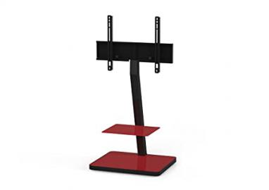 'Sonorous PL 2710 Red HBLK TV Stands for 50 TV's