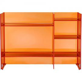 Kartell Sound Rack 9910AT Rack System, Orange