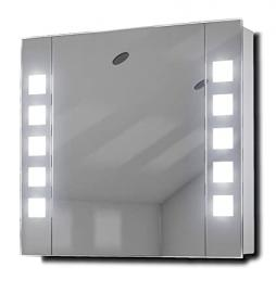 Noble Demister LED Bathroom Cabinet With Demister, Sensor & Shaver k63