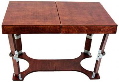Portable Folding Coffee Table Finish: Red Mahogany