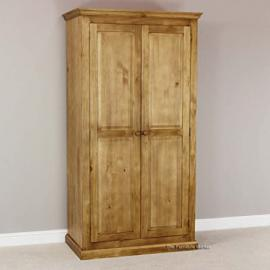 Cheshire Solid Pine Full Hanging Wardrobe