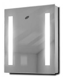 Cascade LED Illuminated Bathroom Cabinet With Sensor & Shaver k129