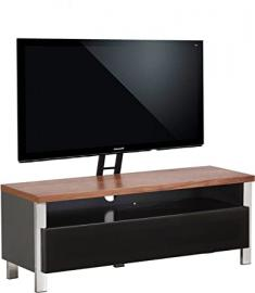 Alphason Regent 1200 Cantilever Stand for TVs up to 65 inch - Walnut