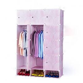 Closet steel resin leaves modern creative child simple wardrobe assembled folding storage cabinets minimalist bedroom