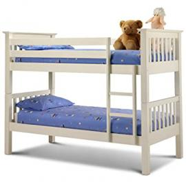 Julian Bowen Barcelona Bunk Bed, Stone White
