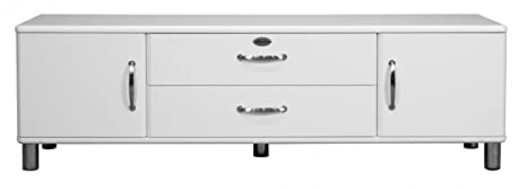 Tenzo MALIBU Designer Sideboard, 54 x 182 x 44 cm, White