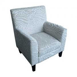 Protege Homeware Textured Animal Print Natural Luxe Chair