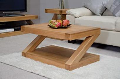 Z Oak Designer 3X2 Coffee Table