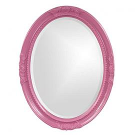 Howard Elliott 40101Hp Queen Ann Hot Pink Mirror