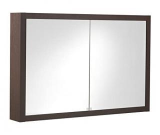 Tiger Boston Spiegelschrank mit 2 Turen wenge 70 x 105 x 15 cm, 596828300