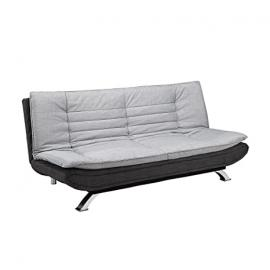 Michigan fabric 3 seater sofa bed grey charcoal guest bed 50200 (194cm x 89cm x 100cm)