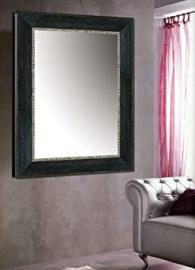Customised wood mirrors: collection TEARN. Colour: Black.