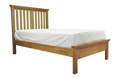 Warwick Oak 3ft Single Sized Bed Frame in Waxed Oak Finish | Wooden Children's Furniture