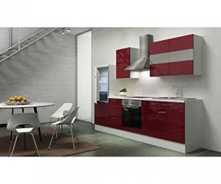 Respekta Kitchen Unit Empty 270cm White Front High Gloss Finish