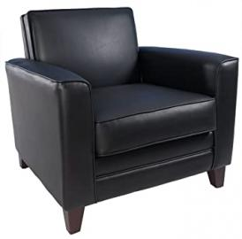 Teknik Newport Armchair - Faux Leather - Black