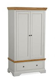 Global Home Products Collection 156 Gents Wardrobe, Wood, Multi-Colour
