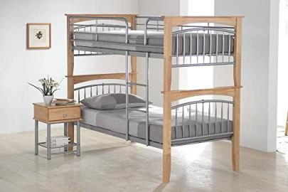 Ideal Furniture Euro Bunk Bed, Beech