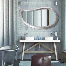 Mirror–Atoll Silver 75x 180–P4257