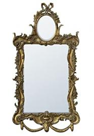 DUSX Etienne French Rococo Two Plate Mirror, Gold