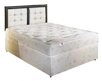 Somnior Balmoral Orthopaedic Divan Bed with Headboard-Small Double (4'0)