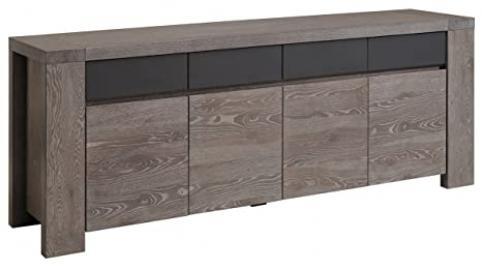 Bristol Sideboard, 195 x 87 x 51 cm, Grey Oak