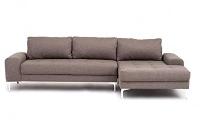 Venice Corner Sofa in Latte - Right