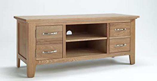 Nottingham oak Living Room furniture TV Unit Stand Cabinet