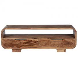 SalesFever TV lowboard from shisham massivholz with 2 drawers Shia