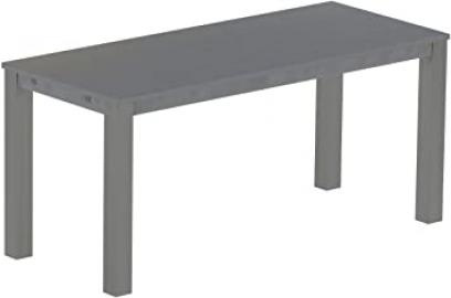 Brasil High Table 'Rio' 240 x 100 cm Solid Pine Wood, Colour: Silk Grey