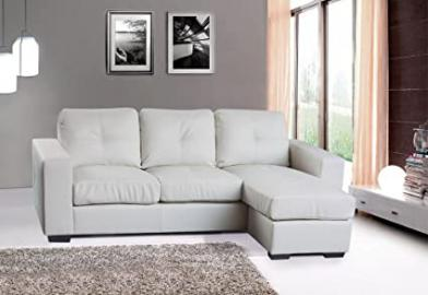 Heartlands Diego Black Corner Sofa