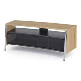 Off The Wall Tangent 1300 TV Stand for up to 55 inch - Light Wood (Oak Effect)