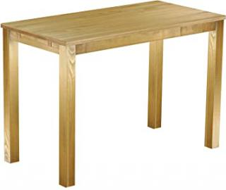 Brasil High Table 'Rio' 160 x 80 cm Solid Pine Wood, Colour: Brazil