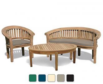 Coffee Table Outdoor - Garden Set - Jati Brand, Quality & Value (Beige)